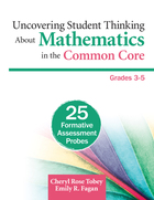 Uncovering Student Thinking About Mathematics in the Common Core, Grades 3-5, ed. , v.