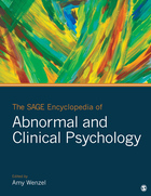 Cover of The SAGE Encyclopedia of Abnormal and Clinical Psychology