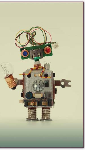 Robots are among the most popular makerspace projects to create. To make your own, connect with a makerspace in your school or community today.