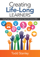 Creating Life-Long Learners, ed. , v.