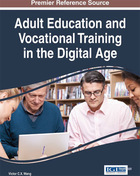 Adult Education and Vocational Training in the Digital Age, ed. , v.