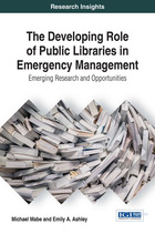 The Developing Role of Public Libraries in Emergency Management, ed. , v.