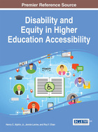 Disability and Equity in Higher Education Accessibility, ed. , v.
