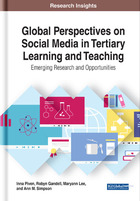 Global Perspectives on Social Media in Tertiary Learning and Teaching, ed. , v.