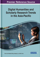Digital Humanities and Scholarly Research Trends in the Asia-Pacific, ed. , v.