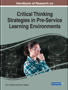 Handbook of Research on Critical Thinking Strategies in Pre-Service Learning Environments, ed. , v.