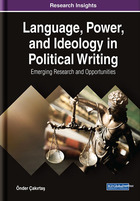 Language, Power, and Ideology in Political Writing, ed. , v.
