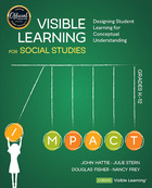 Visible Learning for Social Studies, Grades K-12, ed. , v.