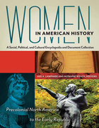 cover of Women in American History: A Social, Political, and Cultural Encyclopedia and Document Collection