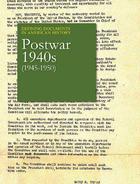 Postwar 1940s (1945-1950), ed. , v.