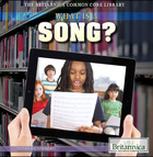 What Is a Song?, ed. , v.