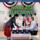 What Are Elections?, ed. , v.