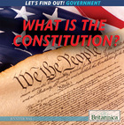 What Is the Constitution?, ed. , v.