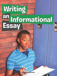 Writing an Informational Essay, ed. , v.  Icon