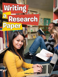Writing a Research Paper, ed. , v.  Icon
