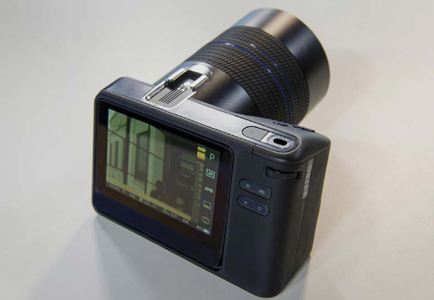 A Lytro Illum camera enables a person to change the focus after a photograph has been taken, to look at shots from different perspectives, and view images in 3D.