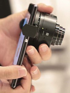 Sony Corporation made the Xperia Z1 smartphone mounted with a lens-style digital camera.