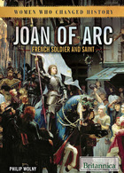 Joan of Arc: French Soldier and Saint, ed. , v.