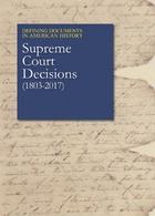 Supreme Court Decisions (1803-2017)