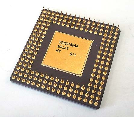 Microprocessors contain all the components of a CPU on a single chip; this allows new devices to have higher computing power in a smaller unit.
