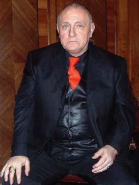 Richard Bandler, co-creator of neuro-linguistic programming, at a NLP seminar, 2007.
