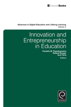 Innovation and Entrepreneurship in Education, ed. , v.