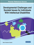 Developmental Challenges and Societal Issues for Individuals With Intellectual Disabilities, ed. , v.