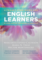 Literacy Strategies for English Learners in Core Content Secondary Classrooms, ed. , v.
