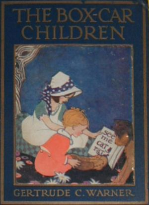 The Boxcar Children was written by school teacher Gertrude Chandler Warner.