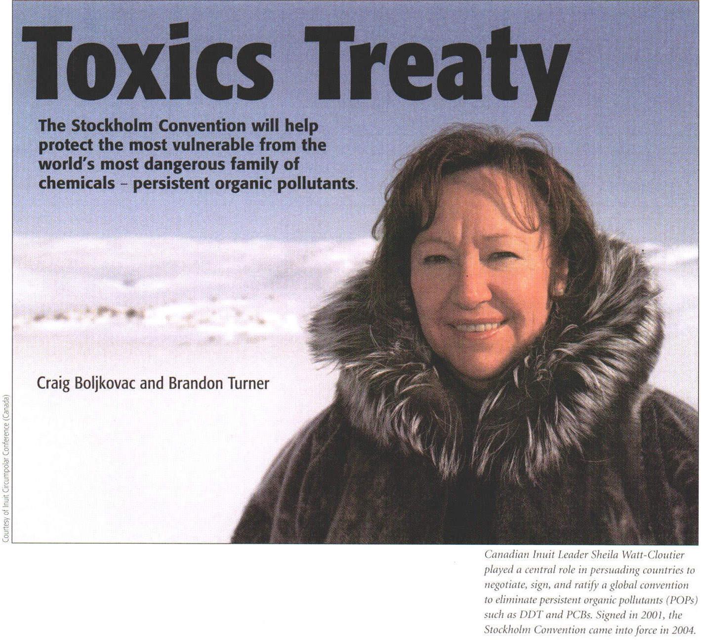 Gale Academic OneFile - Document - Toxics treaty: the