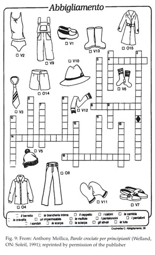 Gale Literature Resource Center Document Crossword Puzzles And Second Language Teaching