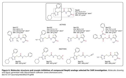 Gale Academic OneFile - Document - Non-peptidic cruzain
