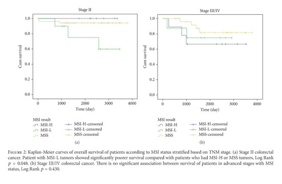 Gale Academic Onefile Document Low Level Of Microsatellite Instability Correlates With Poor Clinical Prognosis In Stage Ii Colorectal Cancer Patients