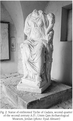 Gale Academic OneFile - Document - AN ENTHRONED TYCHE STATUE