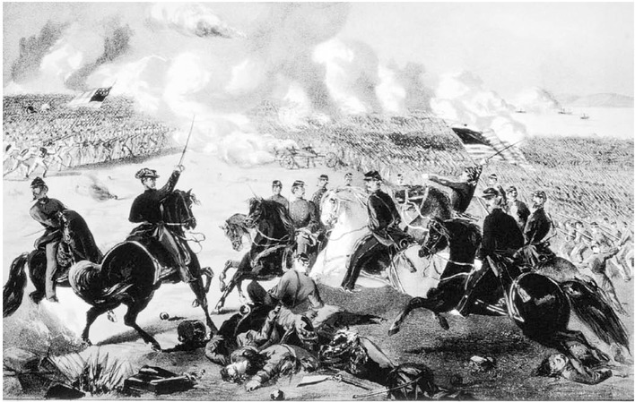 Fought on April 67, 1862 on the west bank of the Tennessee River and 23 miles north of strategic Corinth,