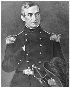 Major Robert Anderson. (Photograph by George Cook. Courtesy of the Library of Congress.)