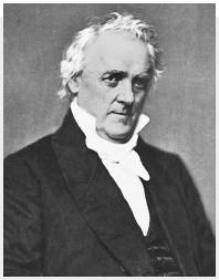 James Buchanan. (Courtesy of the Library of Congress.)