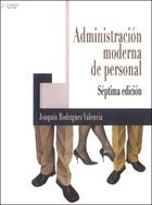 Administración moderna de personal, ed. 7