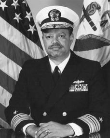 J. Paul Reason, the Navys first African American four-star admiral.