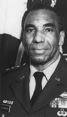 Roscoe Robinson Jr. was the first African American 4-star general in the U.S. Army.