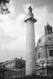 Column of Trajan in Rome. COURTESY OF JAMES ALLAN EVANS.