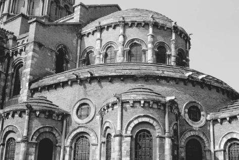Basilica of Saint-Sernin, Toulouse, France, 11th–14th centuries. MARC GARANGER/CORBIS.