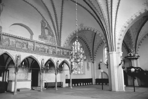 Vaulting, Chapel of Heiligen-Geist-Hospital, Lübeck, Germany, 13th century. WOLFGANG KAEHLER/CORBIS.