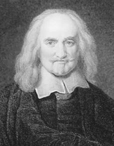 Engraving of Thomas Hobbes. ARCHIVE PHOTOS, INC. REPRODUCED BY PERMISSION.