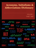 Acronyms, Initialisms & Abbreviations Dictionary, ed. 36, v.