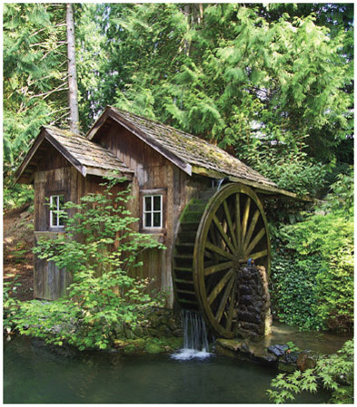 Many old mills are still in existence in the United States today. Some are still in operation.