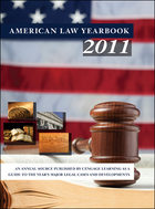 American Law Yearbook 2011 Cover