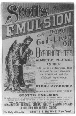 A patent-medicine advertisement from the 1890s