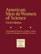American Men & Women of Science, ed. 33, v.