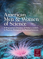 American Men & Women of Science, ed. 37, v.